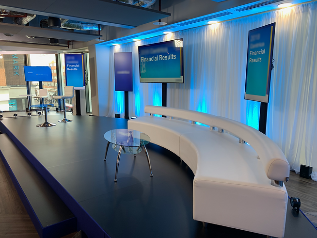 Hybrid Events and Conferences, in any location, hotel, offices, or exhibition halls