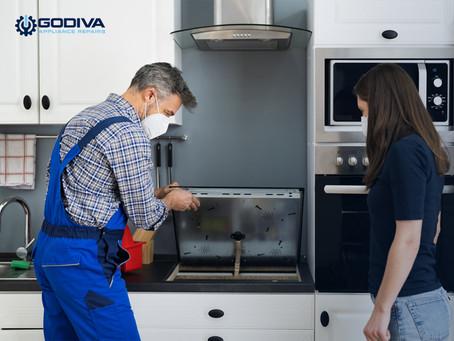Electric cooker installation | Godiva Home Appliances Repair