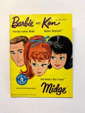 Barbie - Ken - Midge © 1962 Yellow 3-Face