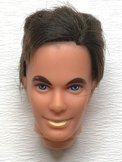 Ken Mod Hair head (hair cut) €4,-