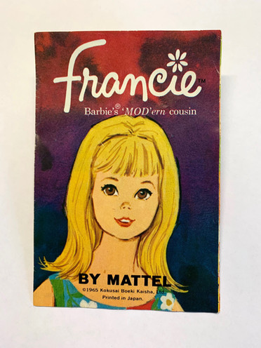 Francie Barbie's MOD'ern Cousin © 1965