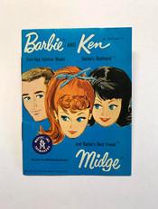 Barbie - Ken - Midge © 1962 Blue 3-Face