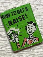 """Ken #1413 Off To Bed book """"How To Get A Raise"""" €8,-"""