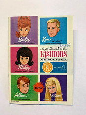 Exclusive Fashions by Mattel 5-Face Book 4 © 1963