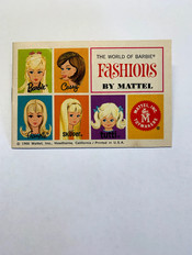 The World of Barbie Fashions 5-Face © 1966