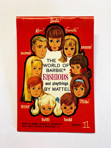 The World of Barbie Fashions and Playthings by Mattel 9-Face Book 1