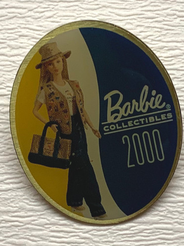 Barbie pin Barbie Collectibles 2000 €2,-