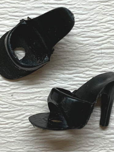 Barbie #1 black shoes €40,-