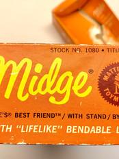 Original box for titian Midge