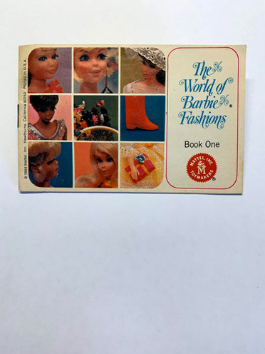 The World of Barbie Fashions Book One © 1968
