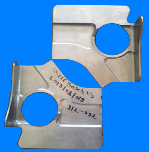 Cover Plate - Titanium
