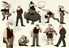 Darwin key poses