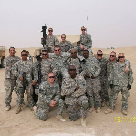 George Freeman unit in Kuwait 2009