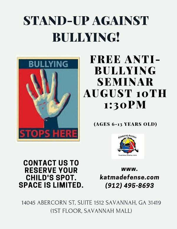 Free Anti-Bullying Poster 2019 front_edi
