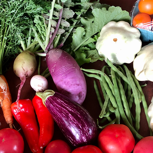 2021 Summer Vegetable Share CSA - Half Share
