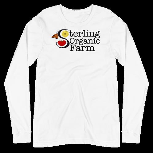 Extra Soft Unisex Sterling Organic Farm Long Sleeve Tee