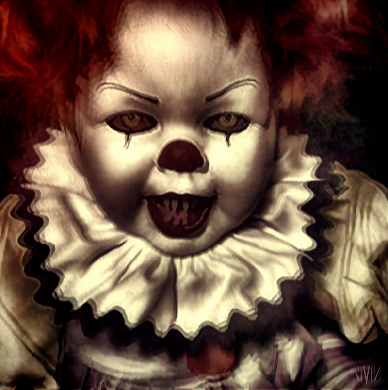 Evil Clown Doll