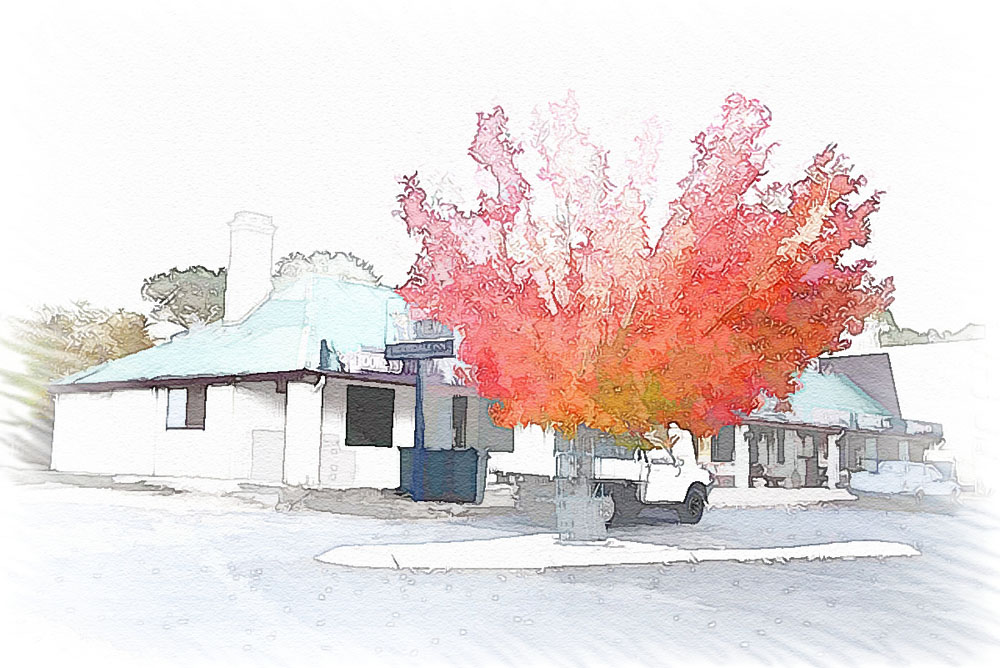 Berridale Inn watercolor