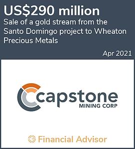 2021-04 - Capstone (Santo Domingo Stream