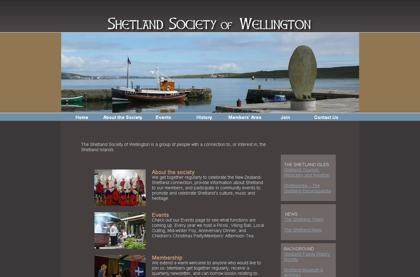 Shetland Society of Wellington