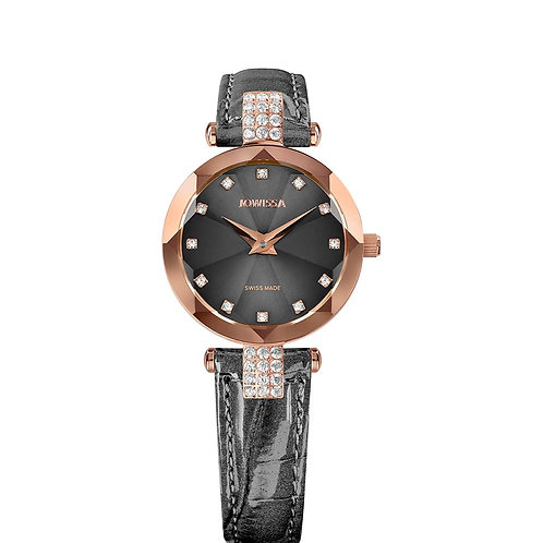Facet Strass Swiss Ladies Watch J5.627.S