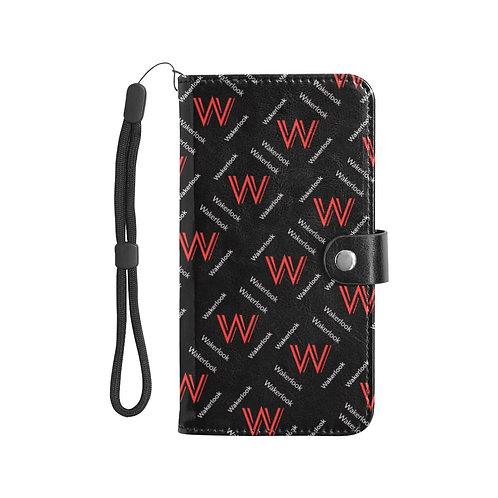 Wakerlook Leather Purse for Mobile Phone