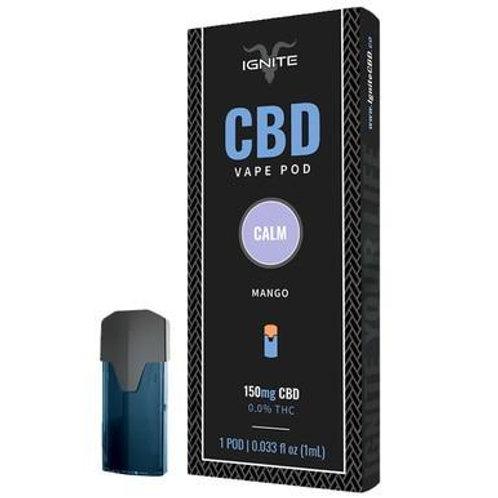 Ignite CBD - CBD Pod - Mango - 150mg