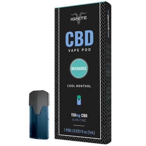 Ignite CBD - CBD Pod - Cool Menthol - 150mg