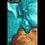 Thumbnail: Slim Resin & Wood Phone Case (Coastline Collection - Deep Sea Green)