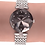Thumbnail: Facet Strass Swiss Ladies Watch J5.637.M