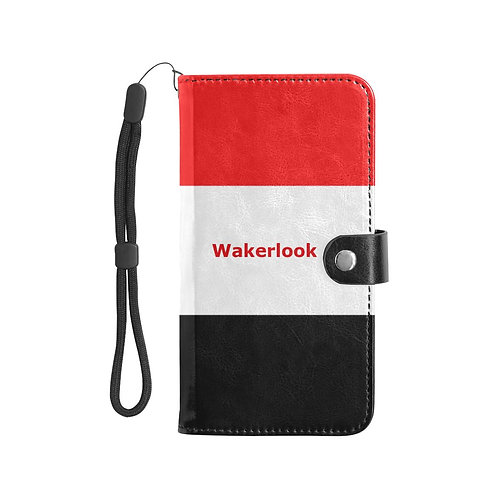 Flip Leather Purse Mobile Phone