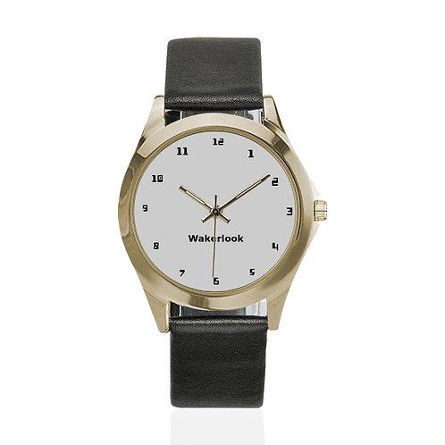Wakerlook  Round Metal Watch