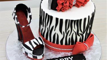 Zebra shoe