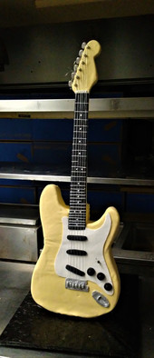 Life-size stratocaster