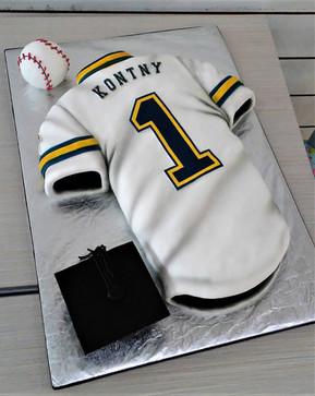 Baseball Jersey Graduation