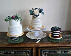 Naked and rustic cakes