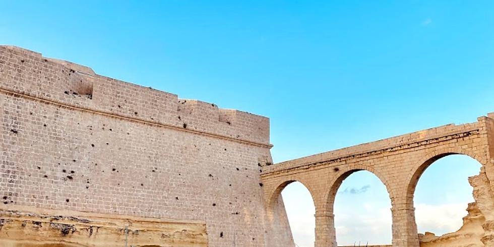 Terrone opening in Fort St Angelo - Birgu