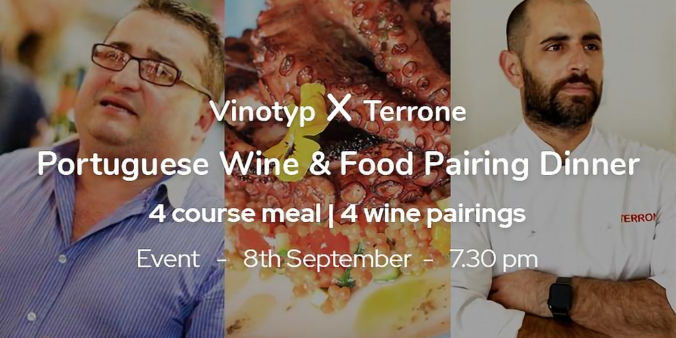 Portuguese Wine & Food Pairing Dinner (4 Courses)