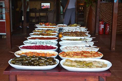 Open buffet Onur restaurant