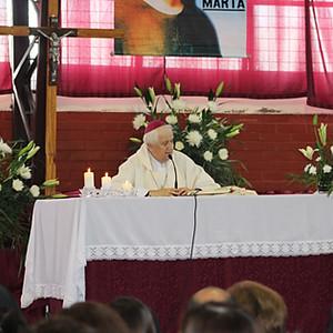 Celebración misa Santa Marta