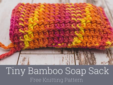 Soap Sack Knitting Pattern: Tiny Bamboo
