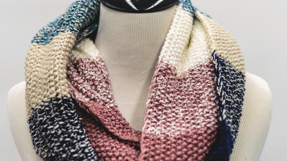 Knit Gradient Infinity Scarf