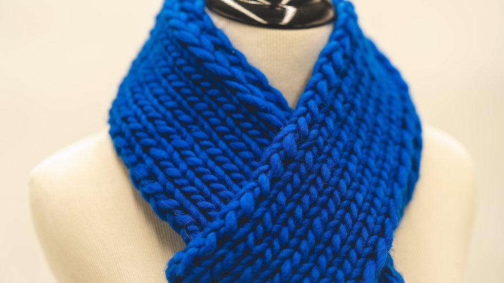 Knit Ribbed Skinny Scarf