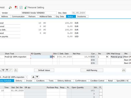 SAP EWM QM Integration with DMR, SKIP lot and Workflow