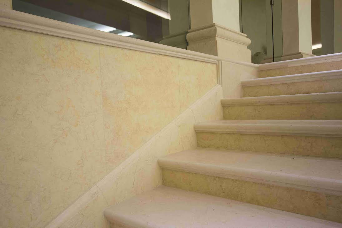 Brushed limestone | tile Egypt