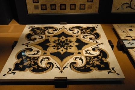 Water Jet Art - Egypt Marble tiles