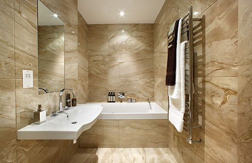 Marble from Egypt -Bath and Other Wet Areas