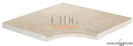 sandblasted finish | Egypt limestone