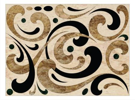 Water Jet Art - Marble from Egypt
