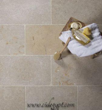 Dijon Tumbled -Limestone flooring